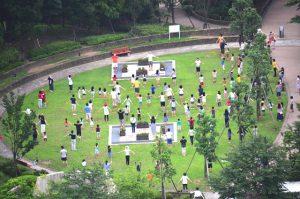 昭和の夏休みの思い出:ラジオ体操