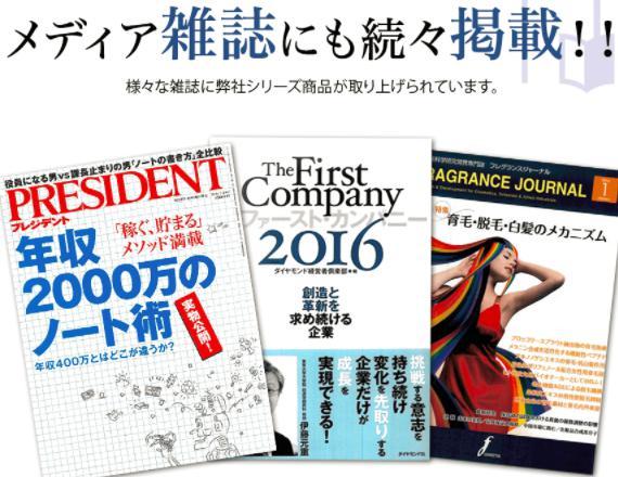 M-1育毛ミスト 雑誌